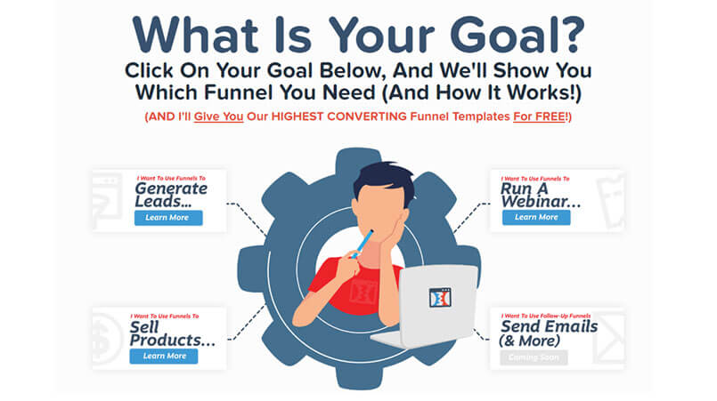 What is you goal? Clickfunnels Review